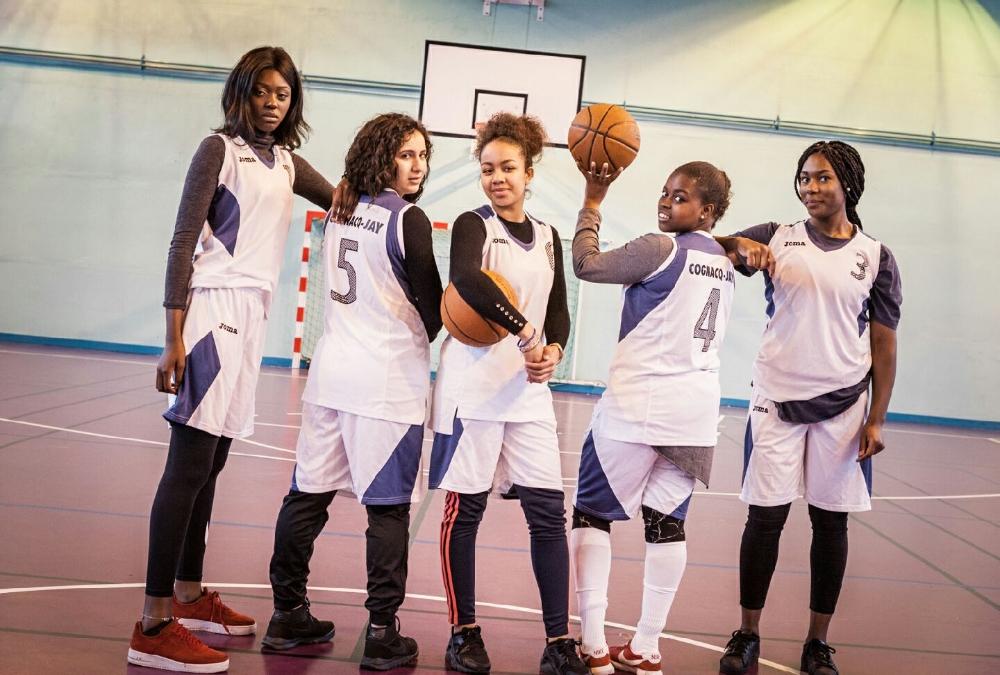 AS 2017 2018 Les filles championnes de France de basket UNSS