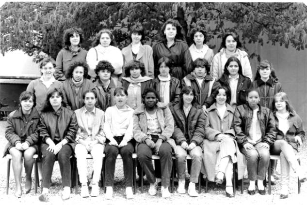 Le lycée en 1982-1983 classe d'enseignement technologique