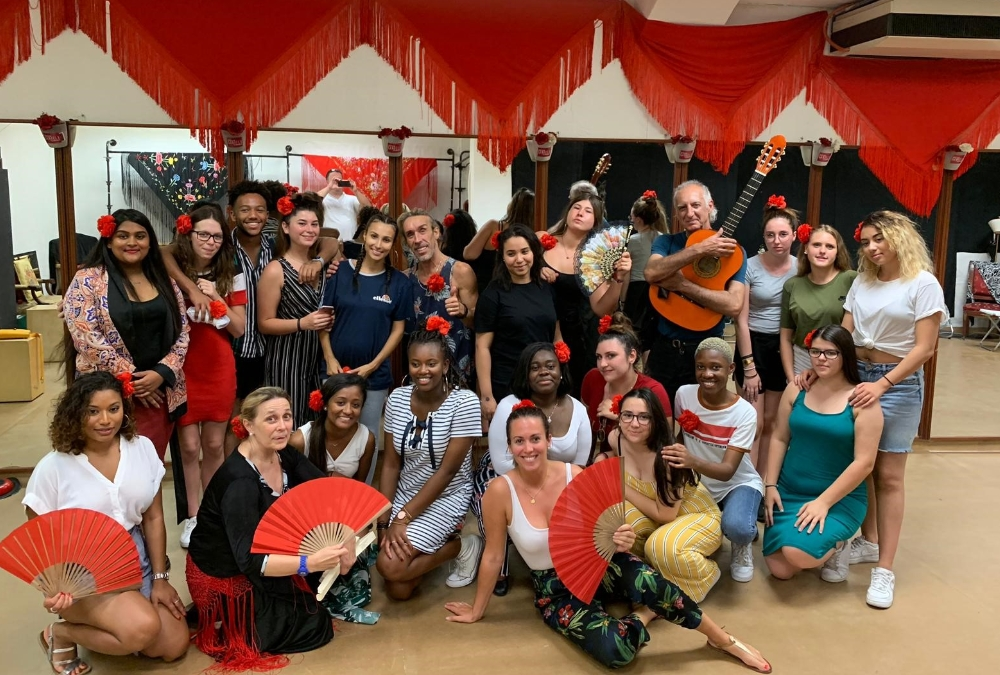 séjour Barcelone 2019 - Initiation au flamenco