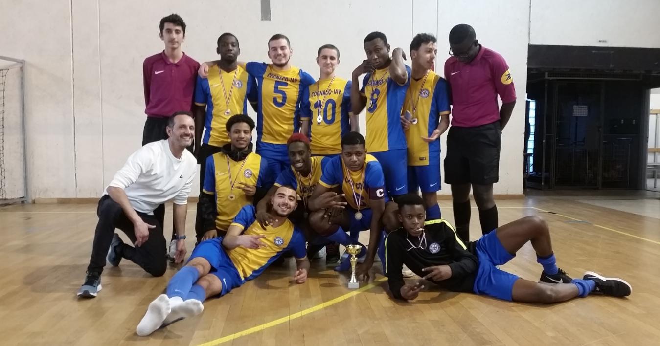 AS Equipe garçons Futsal